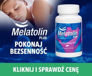melatolin plus tabletki na bezsenność